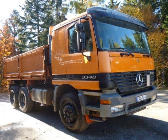 شراء D 4143 قلابات Mercedes Actros 3348 سنة الصنع 2000
