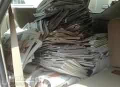 إعادة تدوير الورق