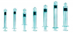 Syringes With luer lock