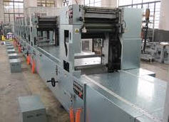 Equipment for printing plates for offset printing