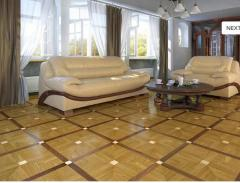 Ceramic flooring tile