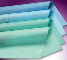 Crepe paper for sterilization