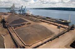 Dry bulk port handling