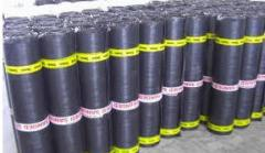 Bitumen waterproofing