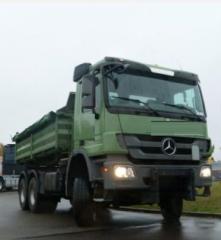 D 4134 قلابات Mercedes Actros 3344 سنة الصنع 2011