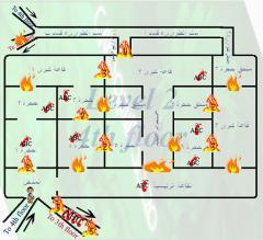 تركيب وبيع انظمة السلامه       من شبكات اطفاء