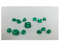 Emeralds From Colombia - AA Quality